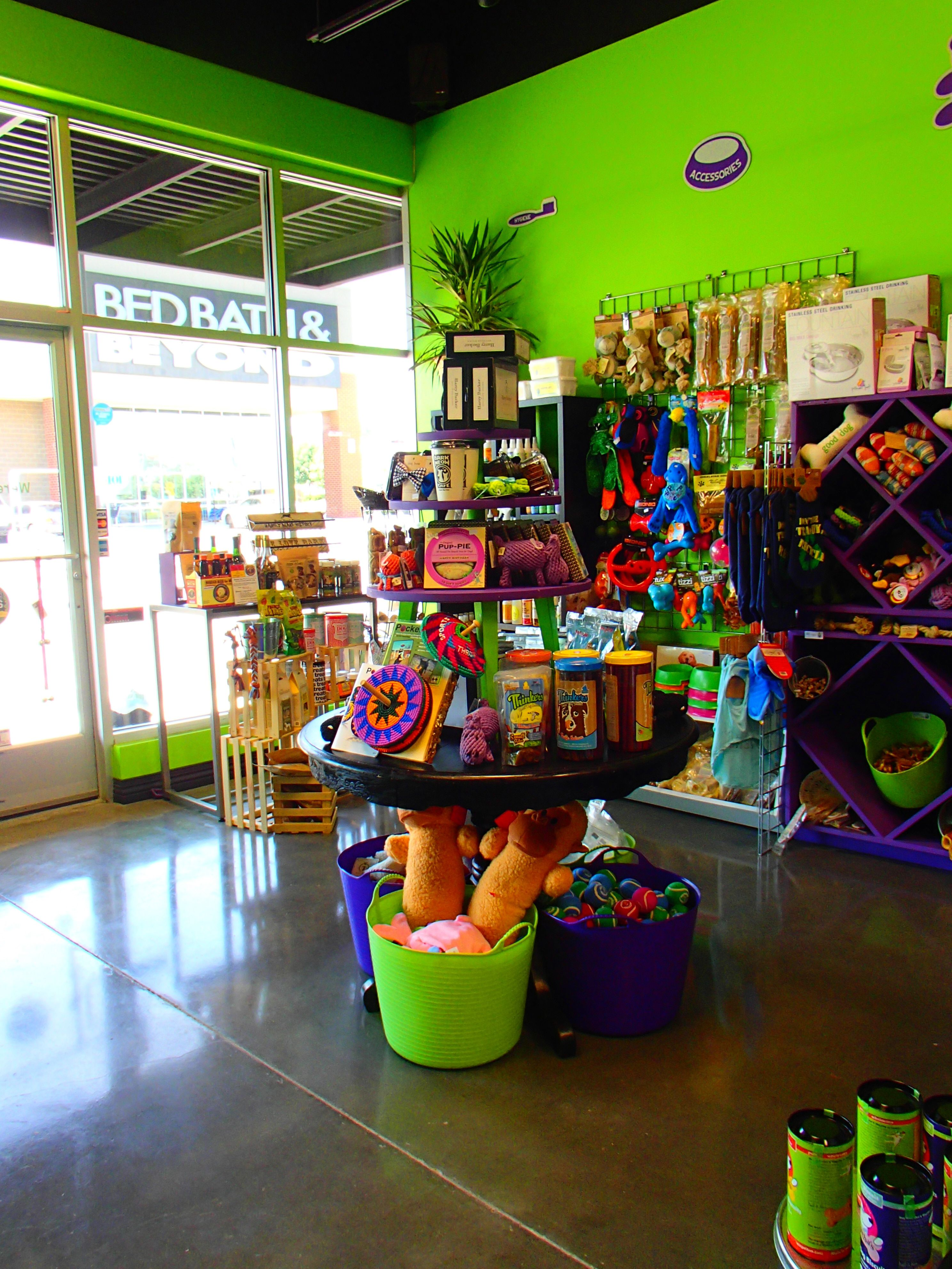The front of our store NaturalDogProducts PetStore