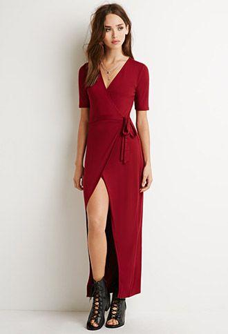 4e7e41e1dec Wrap Maxi Dress