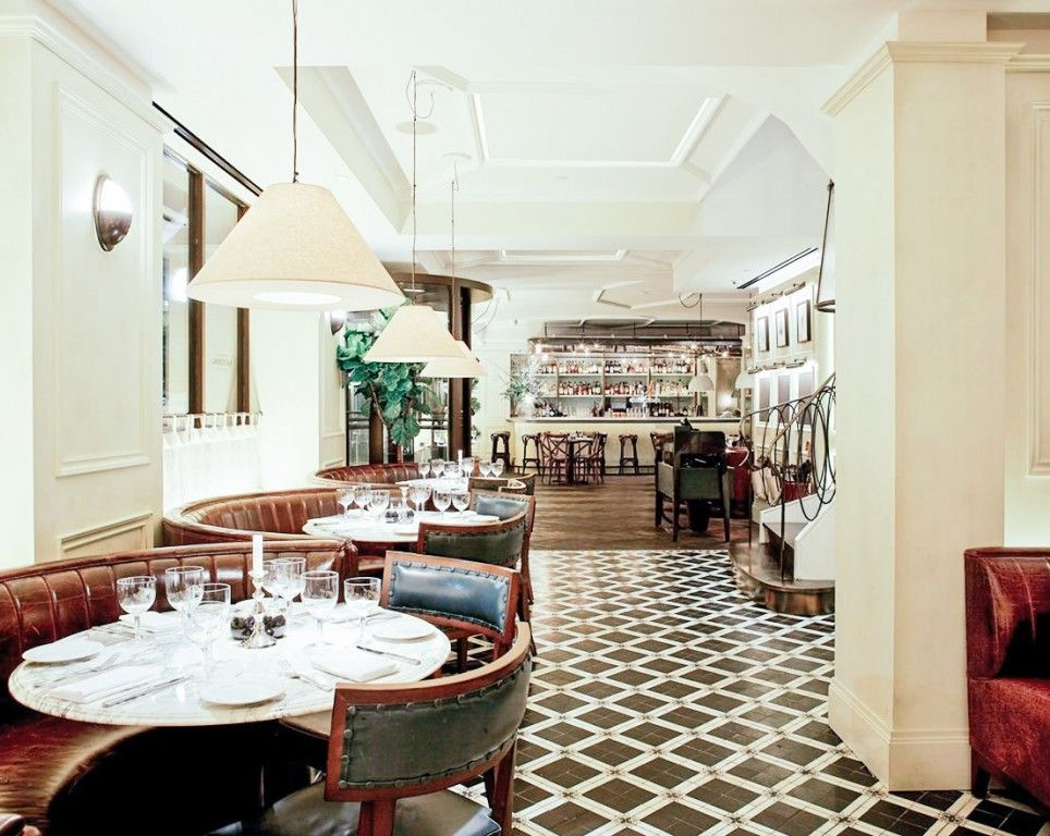 The National Bar Dining Rooms Marble Table Marble Tables