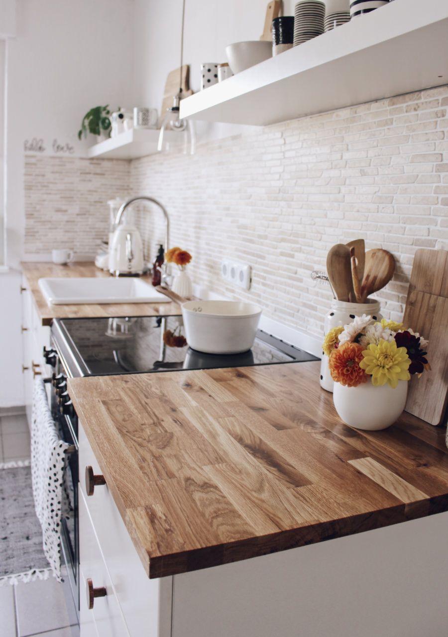 Arbeitsplatte für die Küche Massivholz von Worktop