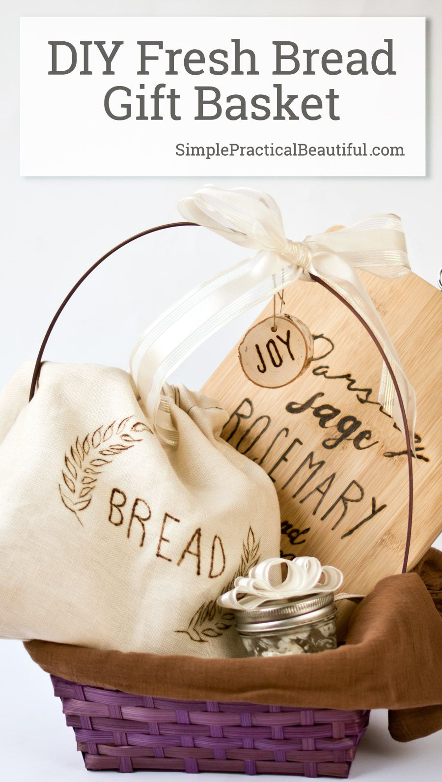 DIY Bread Set Foodie Gift | Fresh bread, Wood burning and Cuttings