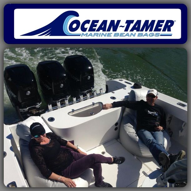 Enjoyable Ocean Tamer Marine Bean Bags Nothing Rides Like An Ocean Inzonedesignstudio Interior Chair Design Inzonedesignstudiocom