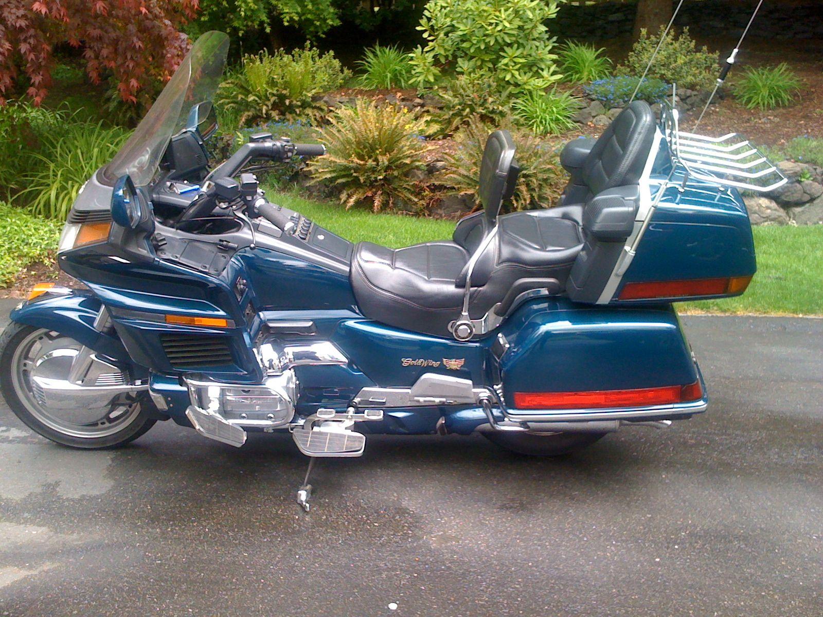 1994 Honda Goldwing Gl1500 Vintage Honda Motorcycles Touring Motorcycles Touring Bike