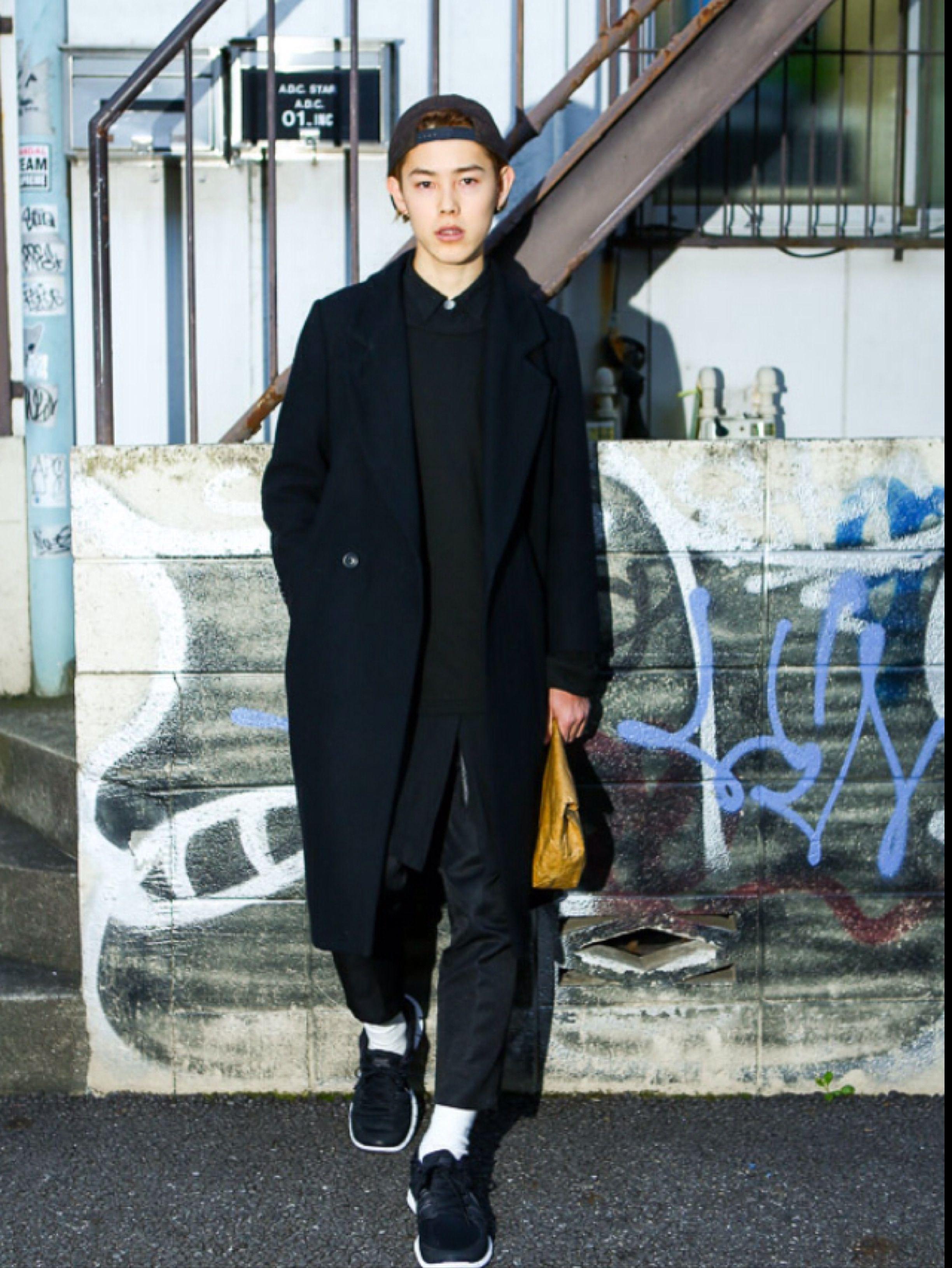 japanese street fashion men acheter pinterest mode asiatique mauvais gar ons et. Black Bedroom Furniture Sets. Home Design Ideas