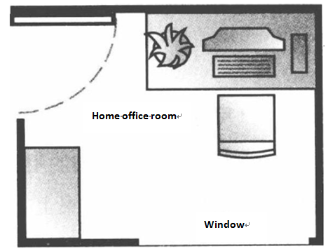 Feng Shui Tips Office Bedroom Computer Screen Facing Windowbad