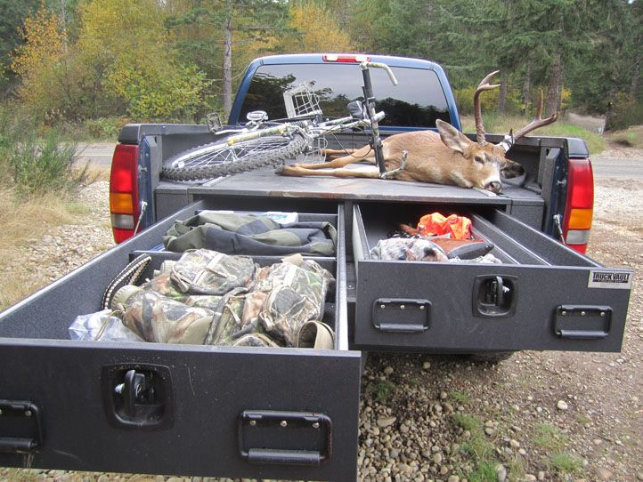 Sportsman Vehicle Cabinets Hunters Have Special Needs