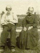 Jasper Edmond Franklin and Eliza Ann Moore