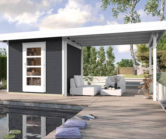 gartenhaus ganz einfach selber bauen garten pinterest. Black Bedroom Furniture Sets. Home Design Ideas