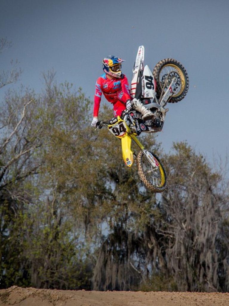 Ken Roczen Bmx Mountain Bike Dirt Bike Racing Motocross