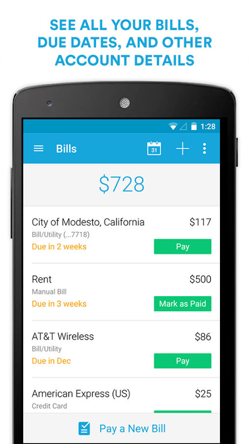 Never Miss a Bill Payment with the AwardWinning Mint