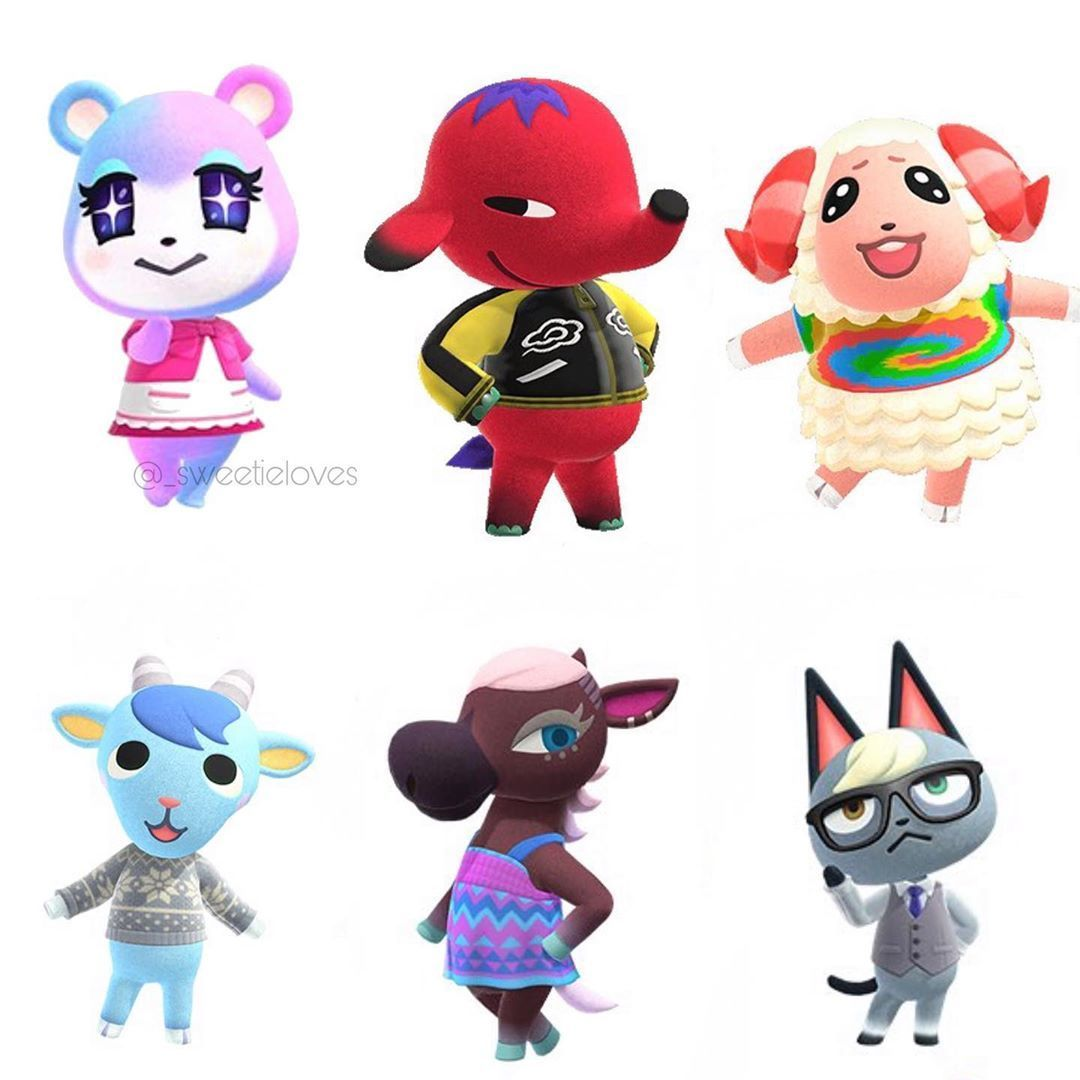 19++ Animal crossing new horizons hairstyles images