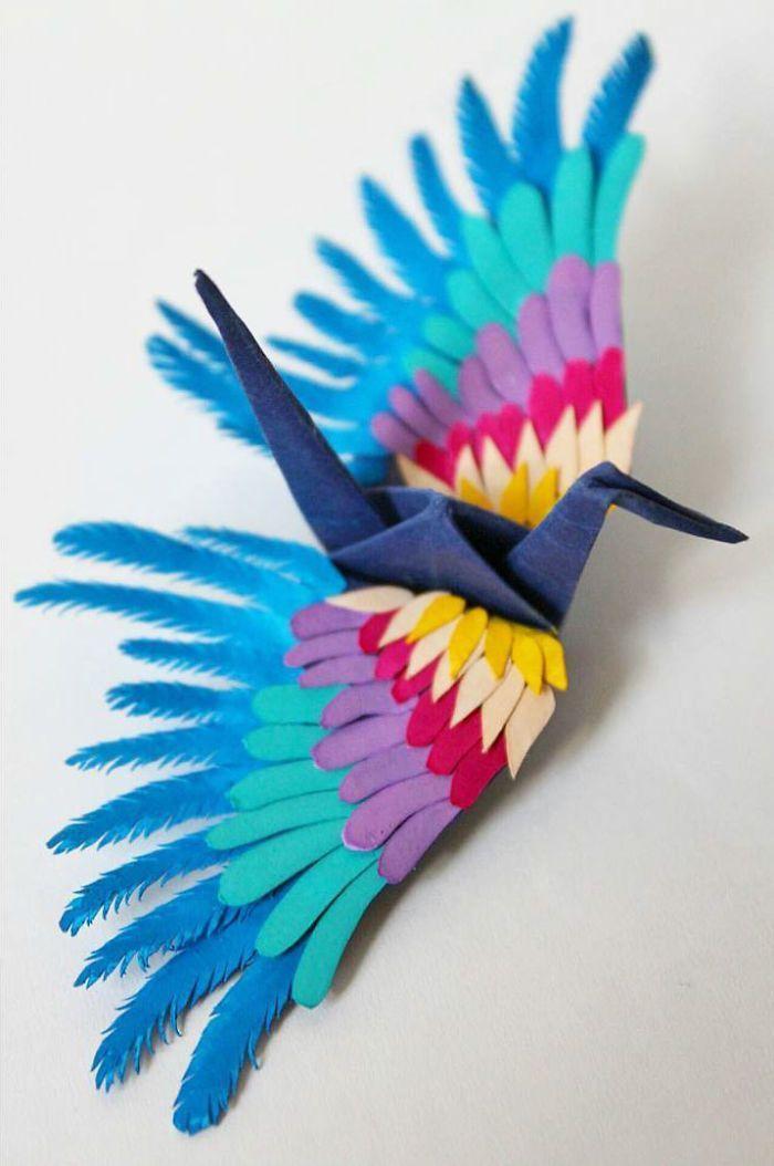 Photo of Ich habe jeden Tag 1000 Tage lang einen Origami-Kran gefaltet und dekoriert