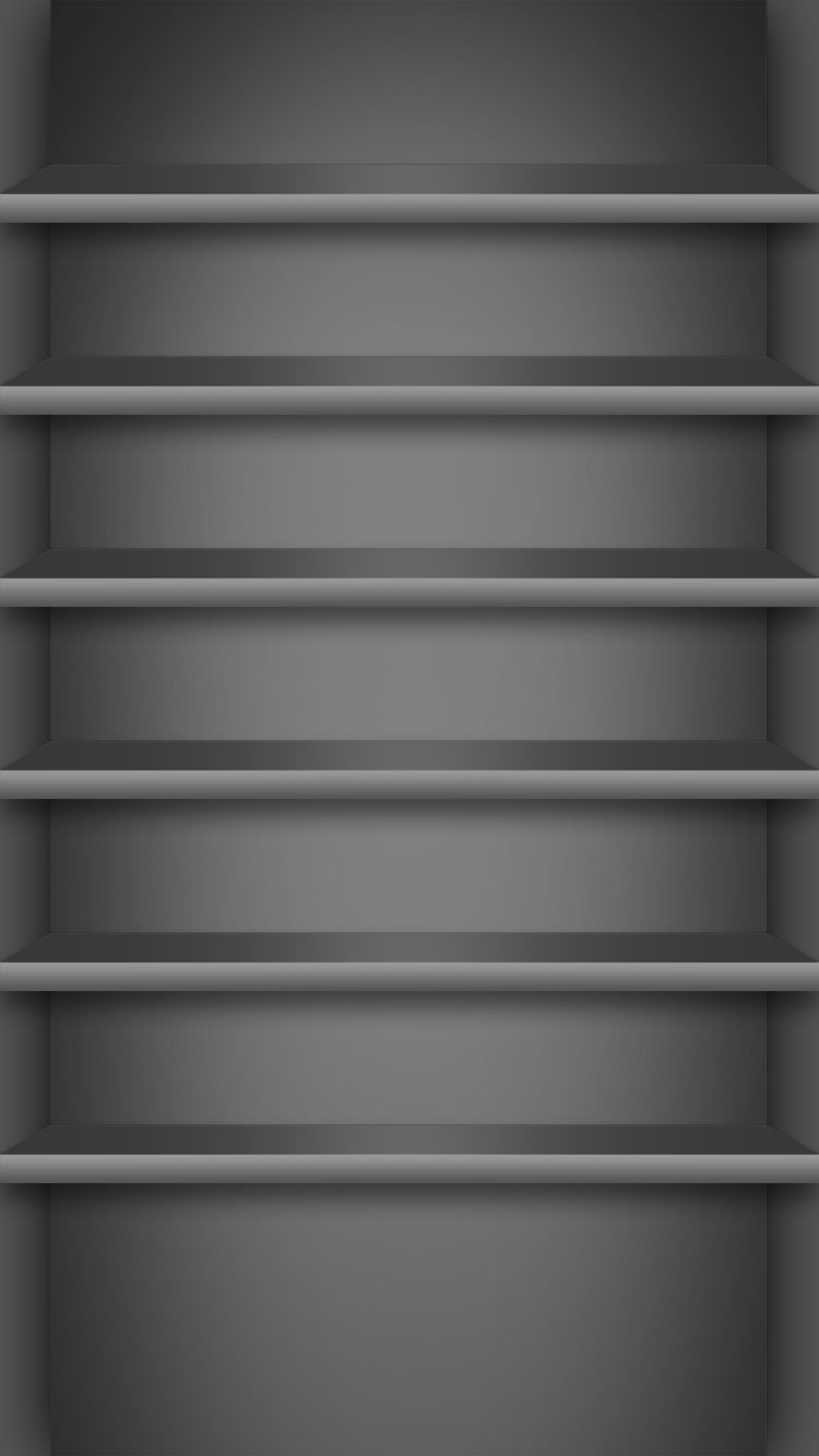 Wallpaper iphone gray - Black Wallpaper Iphone Tap And Get The Free App Shelves Simple Gradient Gray Metal Cool For