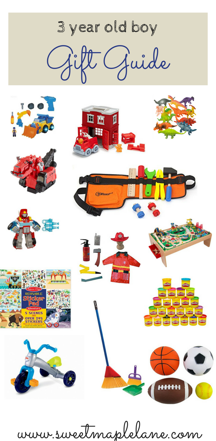 Gift Guide For 3 Year Old Boy