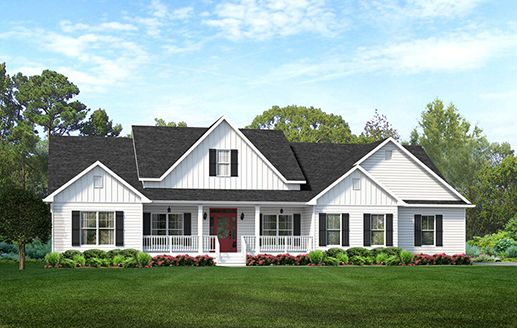 Americas Home Place The Longview Modern Farmhouse Plan