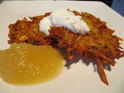 Mama Ozzy's Table: Potato Pancakes (Latkes)