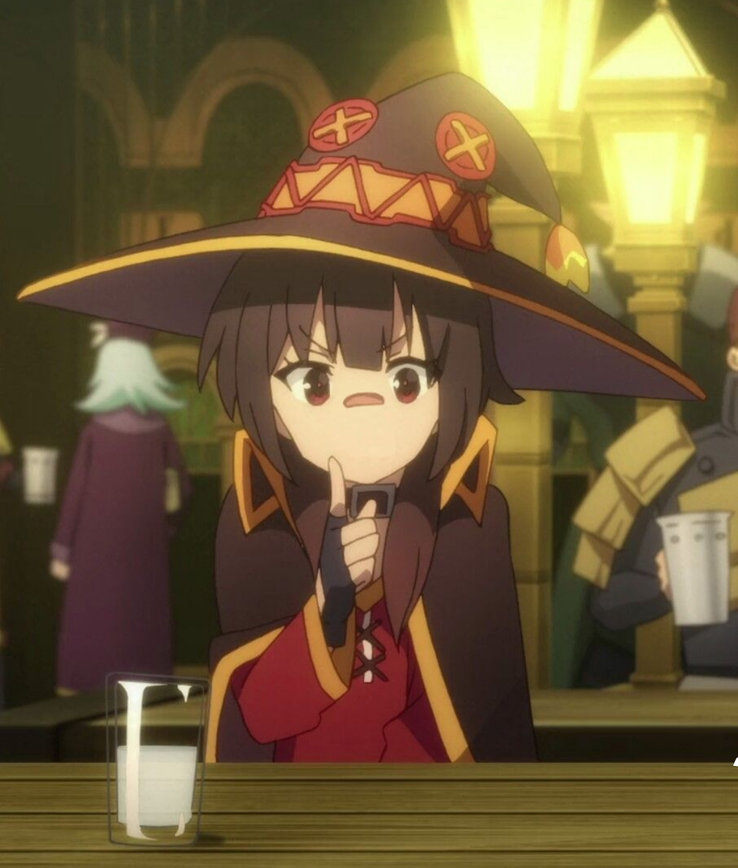 Megumin but I cropped it