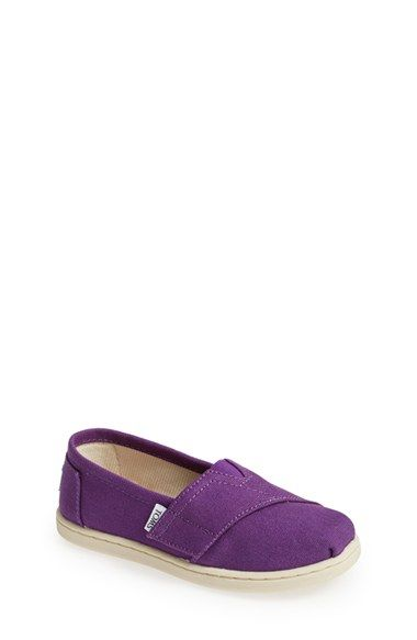 TOMS 'Classic - Tiny' Slip-On (Baby, Walker & Toddler) available at #Nordstrom