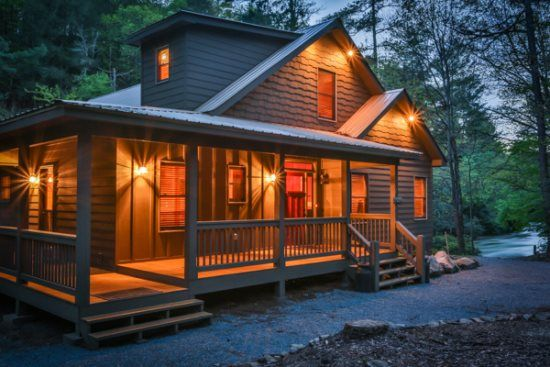 Ellijay Georgia Cabin Rentals - River Song - Blue Sky ...