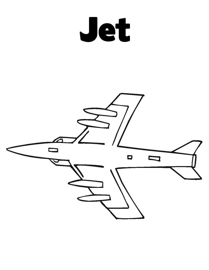 Jet Fighter Coloring | Coloring pages, Color, Coloring for ...
