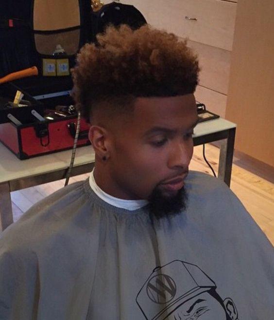 Odell Beckham Jr Black Haircuts Pinterest Beckham Jr And - Odell beckham hairstyle back