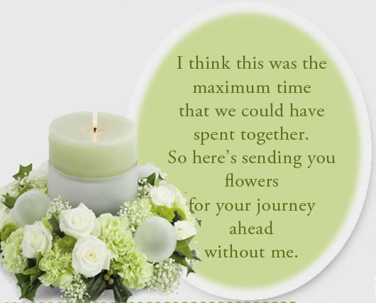 Short Verses For Funeral Flower Cards With Images Funeral