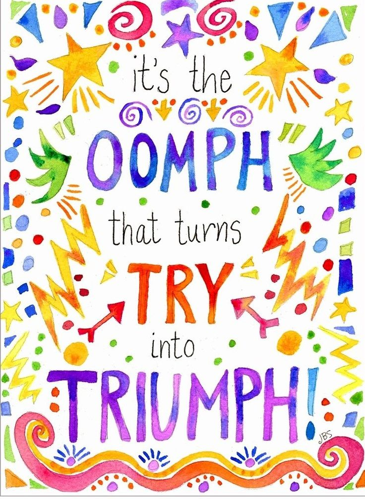 Image result for put some oomph in triumph
