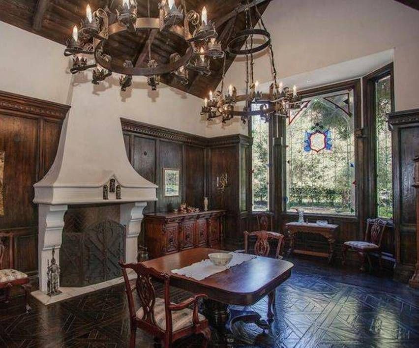 Home Design And Decor , Tudor Style Homes Interior : Tudor Style Homes With  Double Wrought