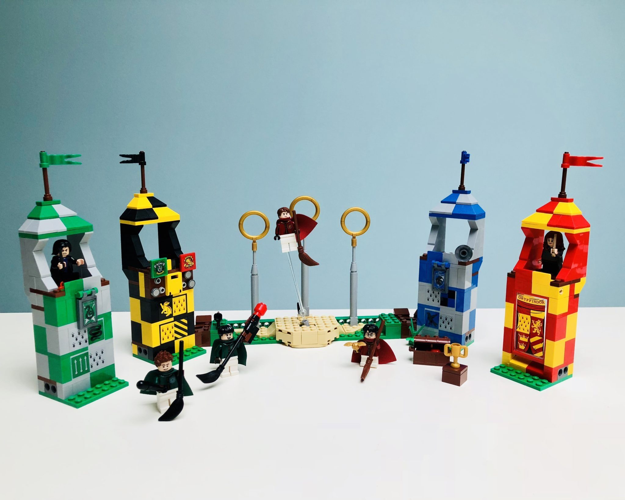 Harry Potter Legos Are Back Beyond The Bookends Harry Potter Lego Sets Lego Harry Potter Harry Potter Toys