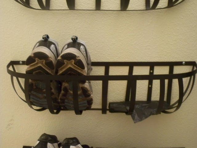 Pin By Megan Hatfield On For The Home Diy Shoe Rack Wall Shoe Rack Shoe Rack Closet