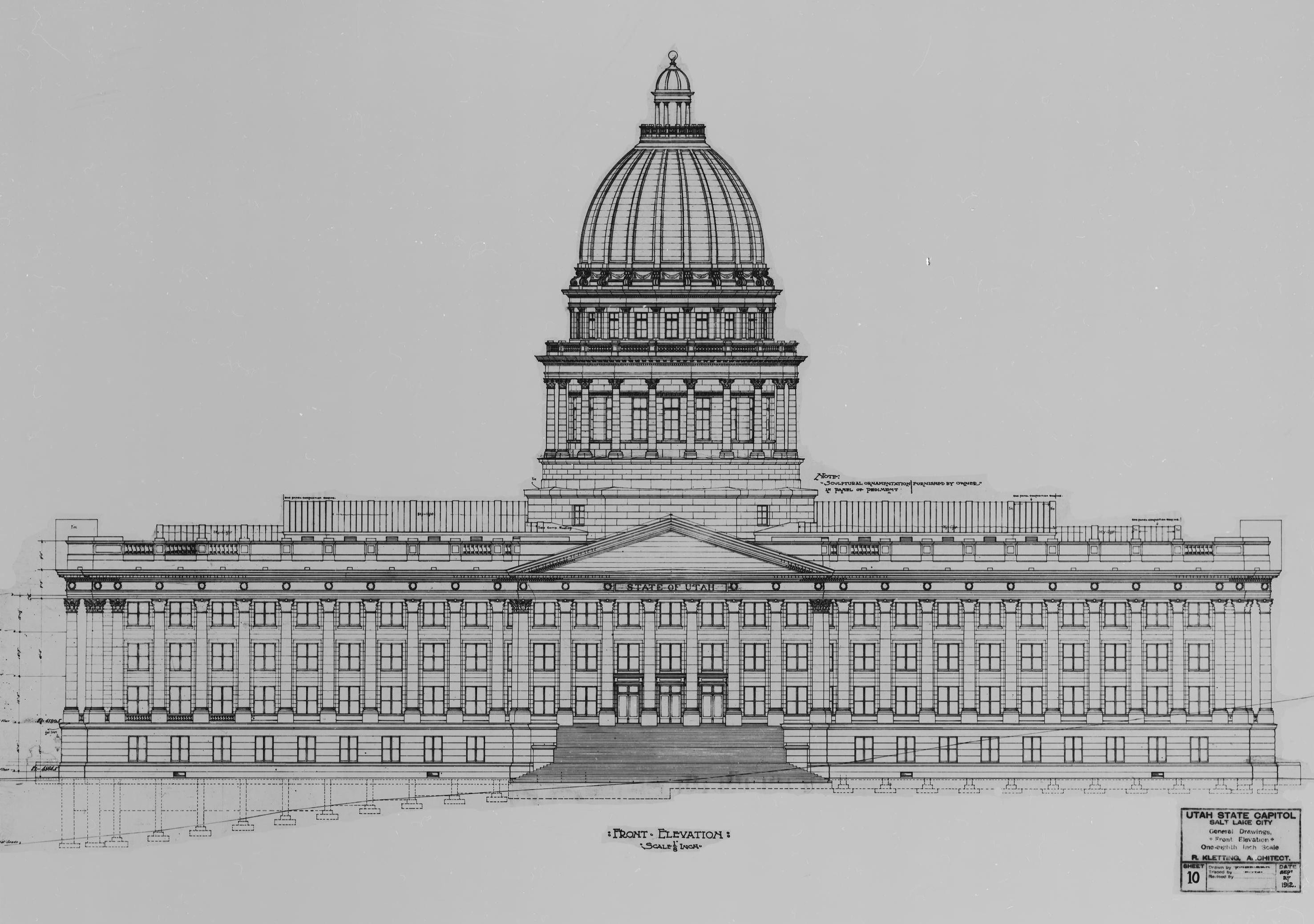 How To Draw The Capitol Building