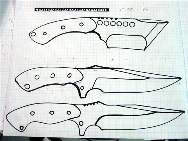 Printable Knife Templates Barca Fontanacountryinn Com