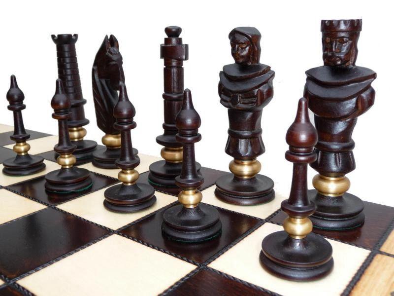 Elegant German Vintage Chess Set Mid Century And Cool