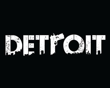 Detroit With Gun R On American Apparel Tshirt By Realestapparel