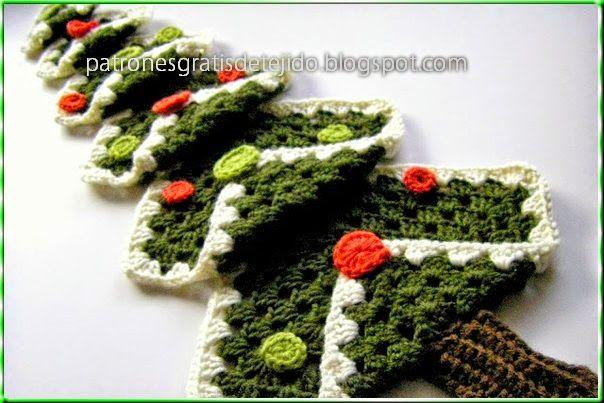árbol de navidad tejido en crochet tipo amigurumi - Copa- - YouTube | 403x604