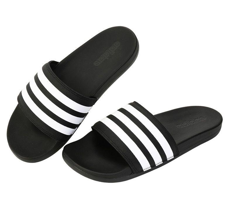 Details about Adidas Adilette CF+ AQ4935 Slides Black Sports