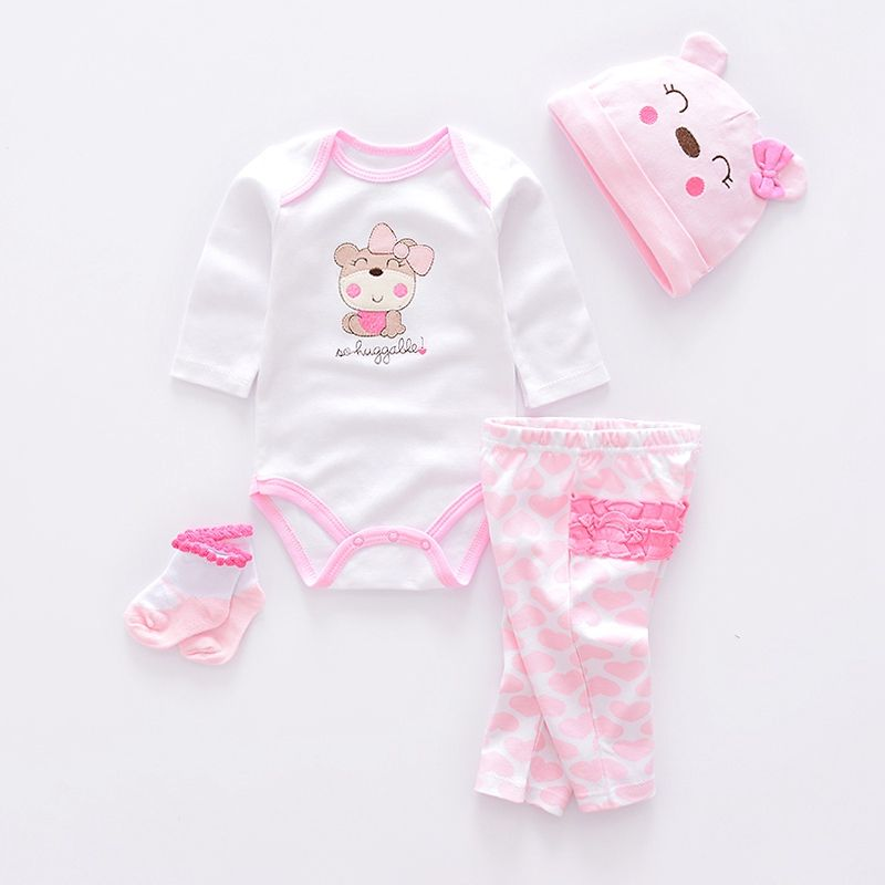 c3caa4270 Newborn Baby Girl Baby Boy Cute Clothing Set