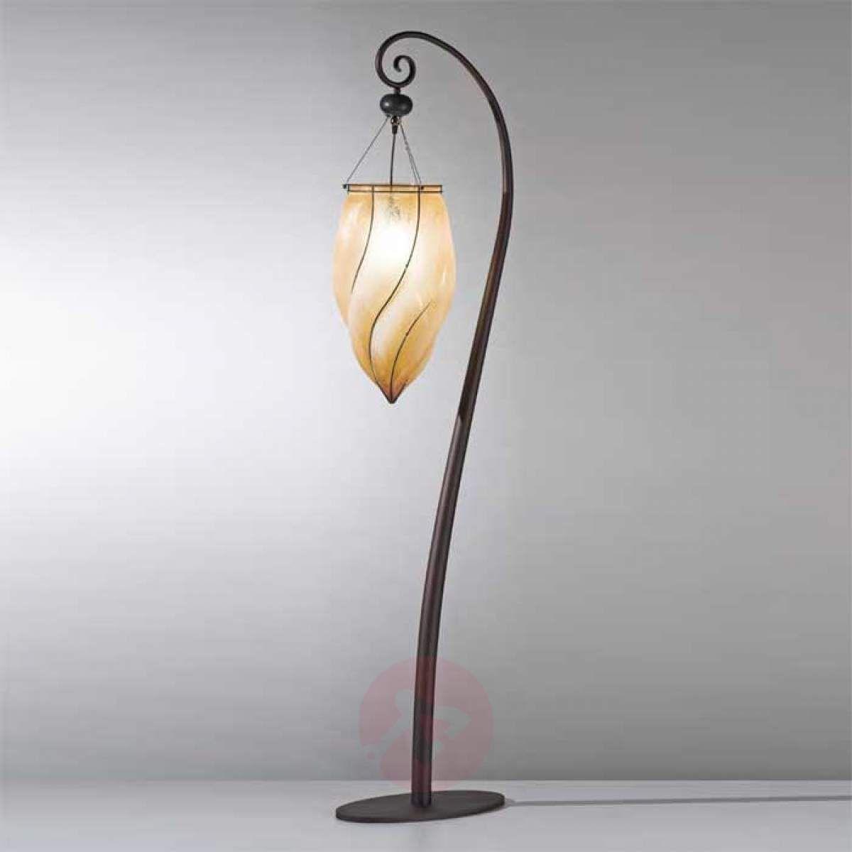 Urocza Lampa Stojaca Pozzo Recznie Wykonana With Images Lampy