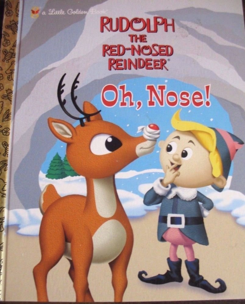 Details about A LIttle Golden Book RUDOLPH THE RED NOSED