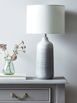 Grey Ombre Table Lamp Concrete Table Lamp Table Lamp Luxury Grey Table Lamps