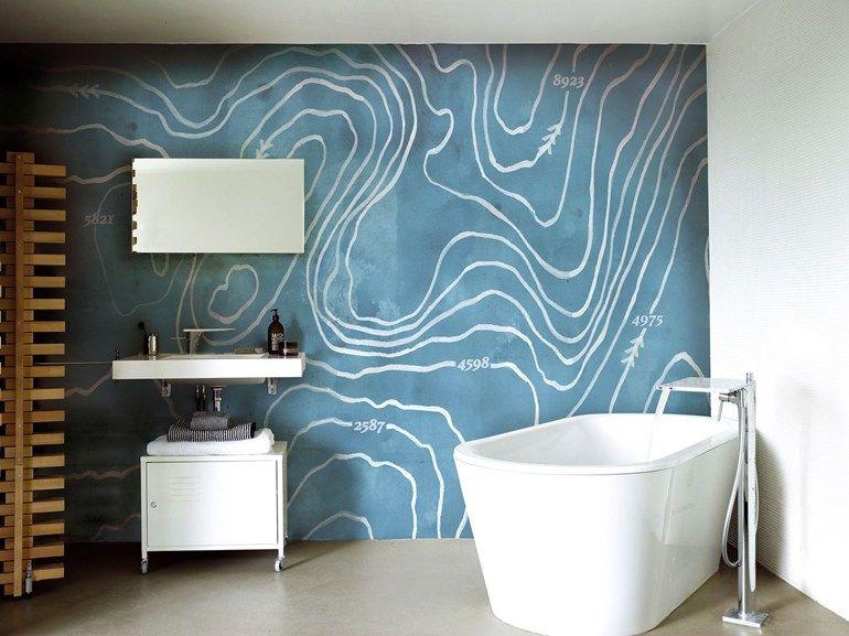 Motiv Tapete Arctic Wind Kollektion Wet System 15 By Wall Badezimmer Tapete Deko Wand Tapeten