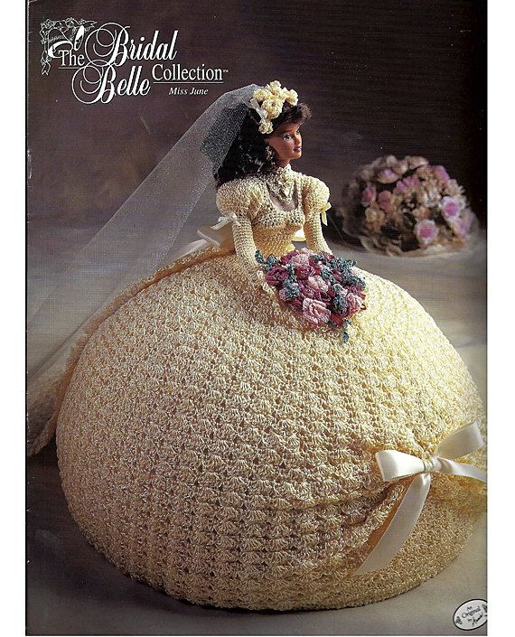 The Bridal Belle Collection Miss June Fashion Doll Crochet Pattern ...