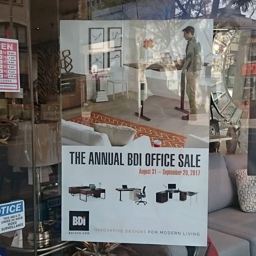 @instylehomerugs Is Having Their Annual BDI Office Furniture Sale . . .  #decor #