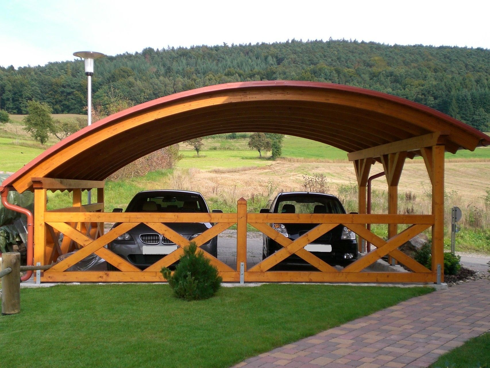 Carport Design Carport Bilder Galerie Schauen Sie Sich Hier In Unserer Design Carport Carport Designs House With Porch Carport
