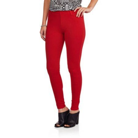 14709a8b6c8f7 Women's Full Length Knit Color Jegging | Products | Faded glory ...