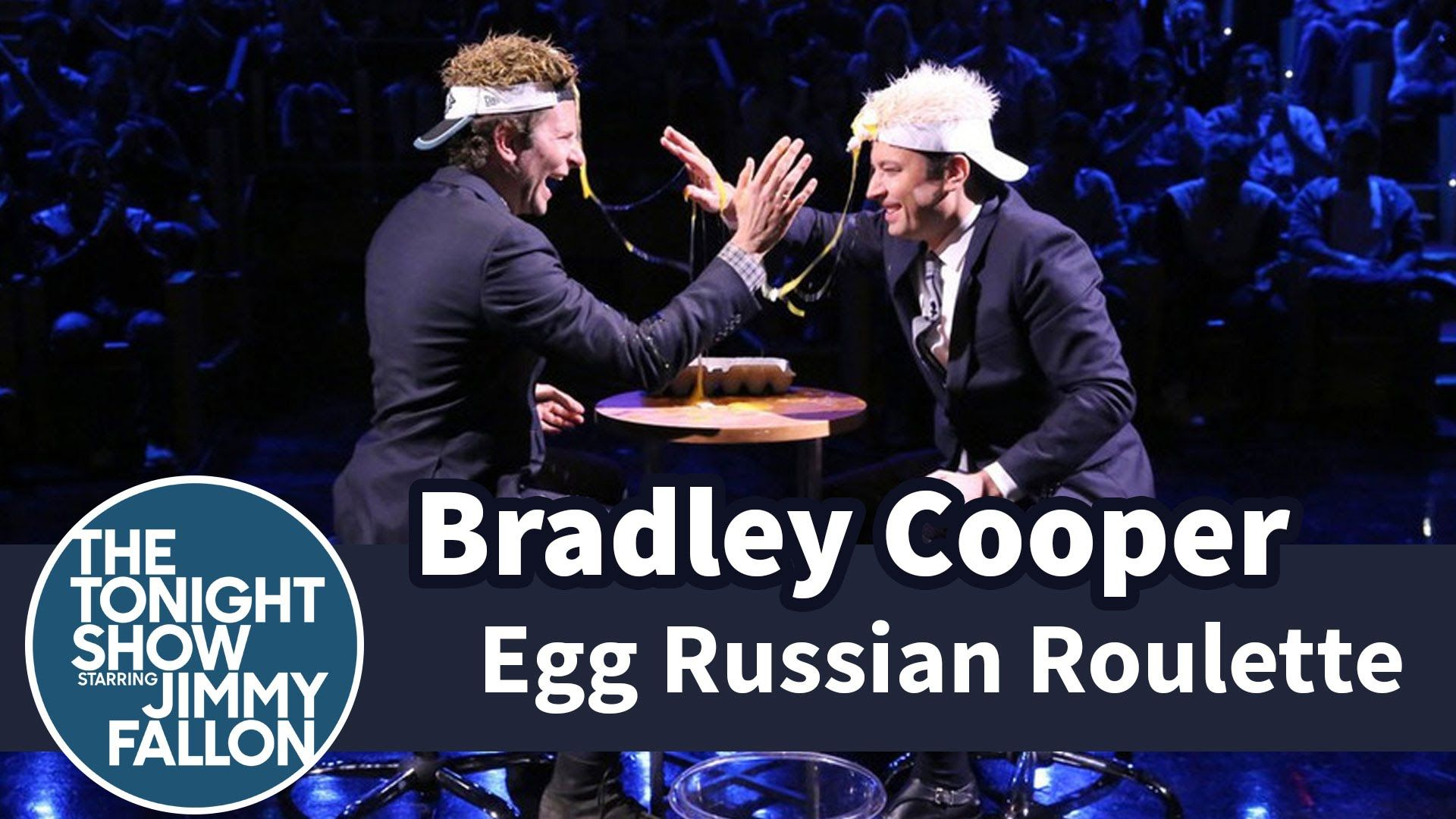 Bradley Cooper and Jimmy Fallon Compete in a Surprisingly