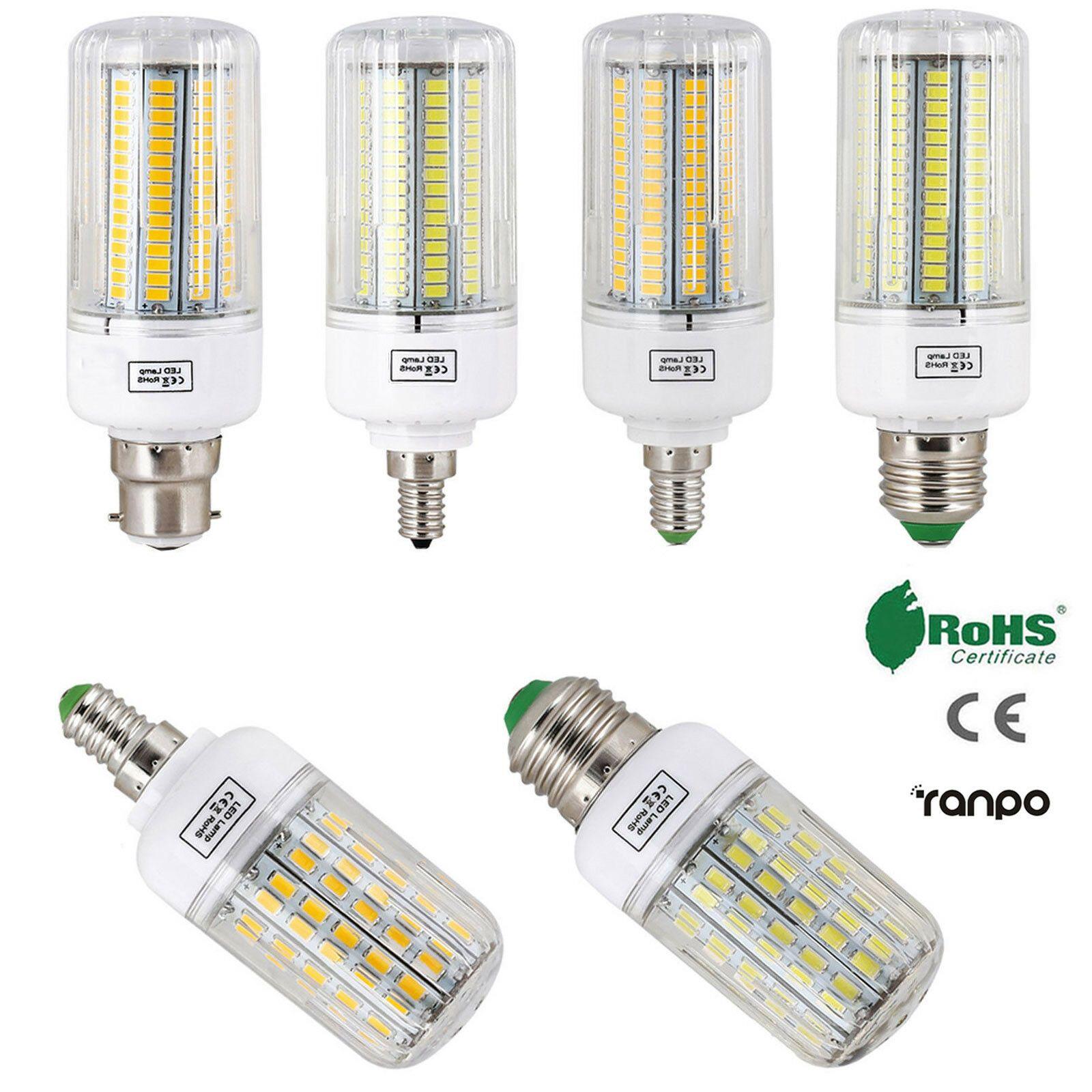 E27 E14 E12 B22 Led Corn Bulb 5730 Smd Light Corn Lamp Incandescent 20w 160w Led Bulb Led Candle Lights Candle Lamp