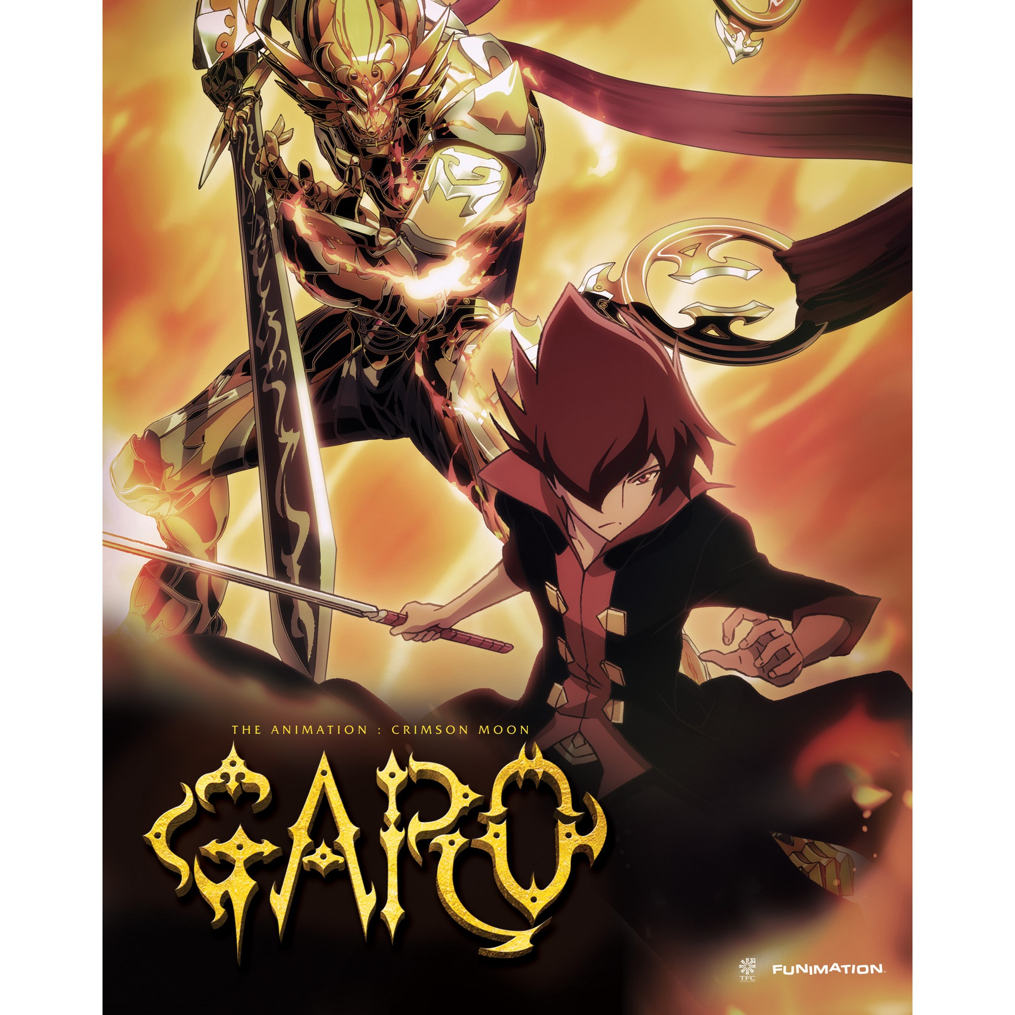 Garo the animationSeason one part on (Bluray