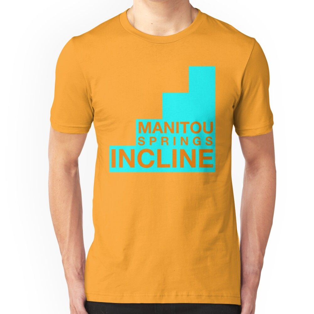 Manitou Springs Incline Official Slim Fit T-Shirt #manitousprings