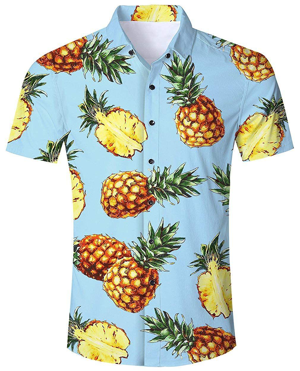 Camisa Hawaiana Para Hombre Mujer Casual Manga Corta Camisas Playa Verano Unisex 3d Estampada Funny Hawaii Disfraceslandia Camisa Hawaiana Camisas Ropa Informal Masculina